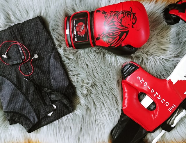 Weight loss training gloves, mask and zip up jacket